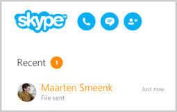skype,ファイル送信