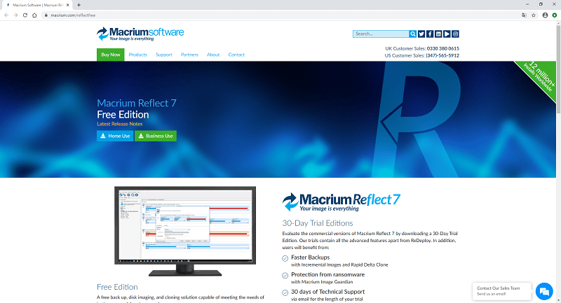 Macrium Reflect Free Edition